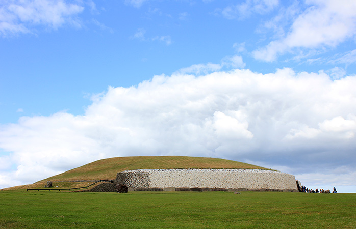 It's actually older than the pyramids, the Newgrange monument in County Meath